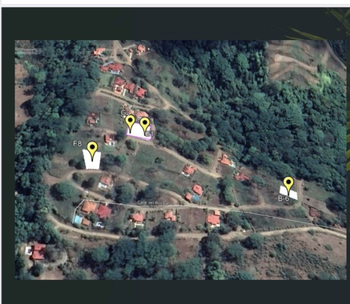 Remax real estate, Costa Rica, Ojochal, 4 Lots with Desirable Secure Location in Ojochal