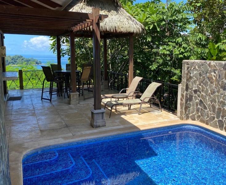 Remax real estate, Costa Rica, Dominicalito de Osa, Canto Del Mar, Villa 25 Ocean Views!