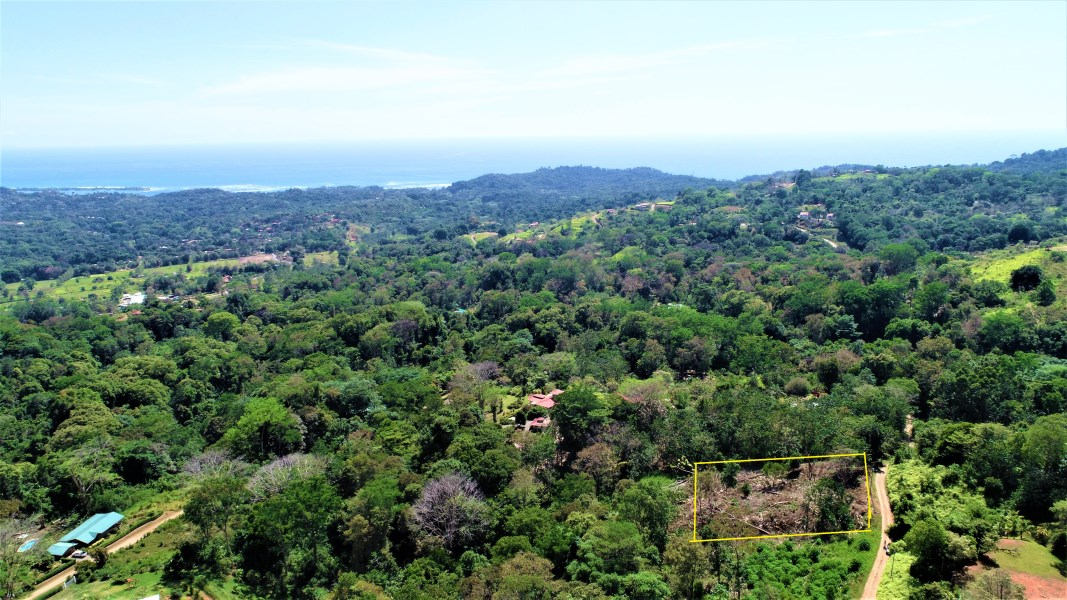 Remax real estate, Costa Rica, Ojochal, Panoramic Ocean and mountain views, legal water lot in Ojochal