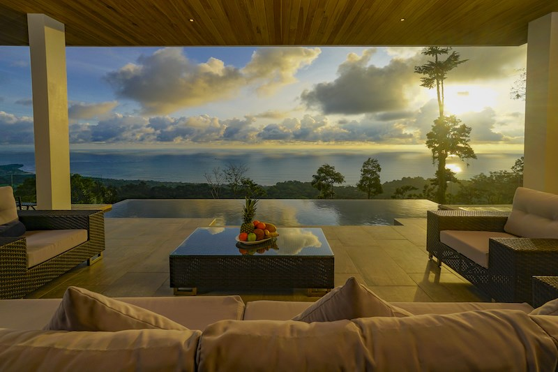 Remax real estate, Costa Rica, Dominical, Luxury Estate with Best Whales Tail Views