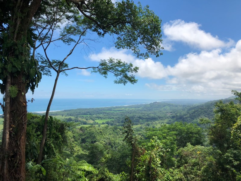 Remax real estate, Costa Rica, Puerto Dominical, Dominical-Hatillo: Altos de Miramar Lot # 3 for sale with epic ocean views