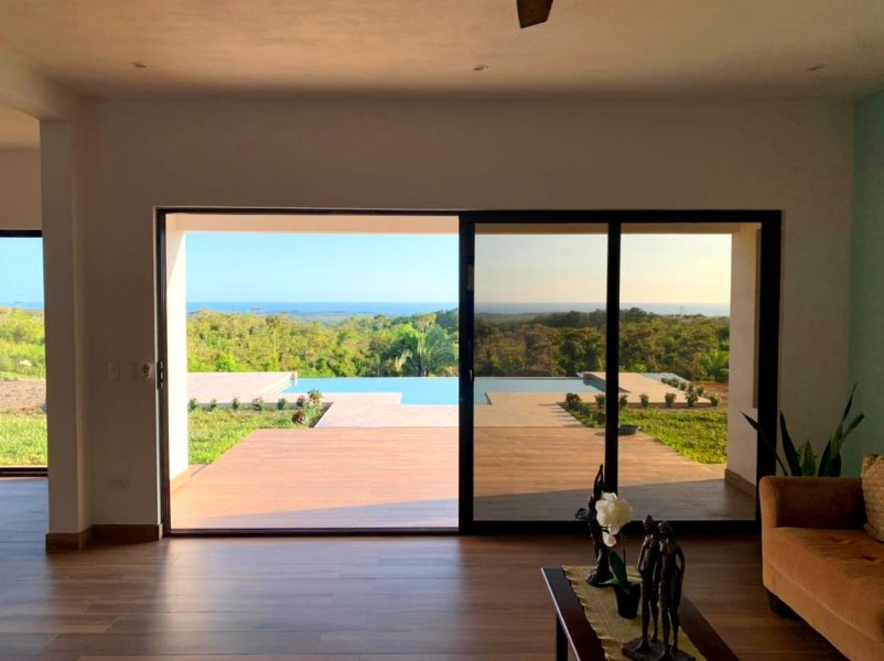 Remax real estate, Costa Rica, Esterillos, Esterillos-Chires: New construction, panoramic ocean view house