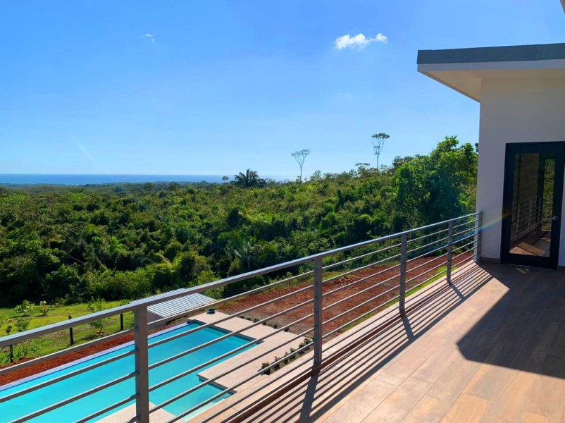 Remax real estate, Costa Rica, Esterillos, Esterillos-Chires: New construction, panoramic ocean view house