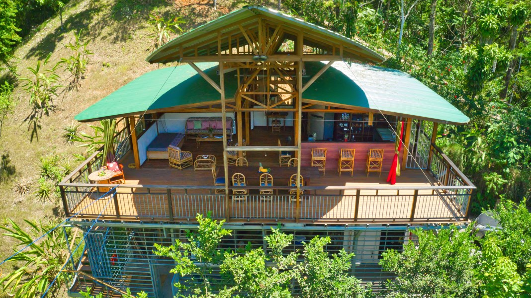 """Remax real estate, Costa Rica, Portalon de Quepos, Matapalo: Brand new """"Immersed in Nature"""" home by builder/architect - priced to sell!"""