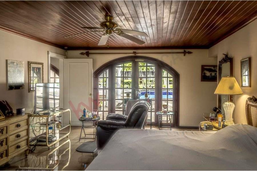 Remax real estate, Costa Rica, Santa Ana, Mediterranean Style House For Sale on a 6,021 m2 lot in Rio Oro, Santa Ana, Costa Rica