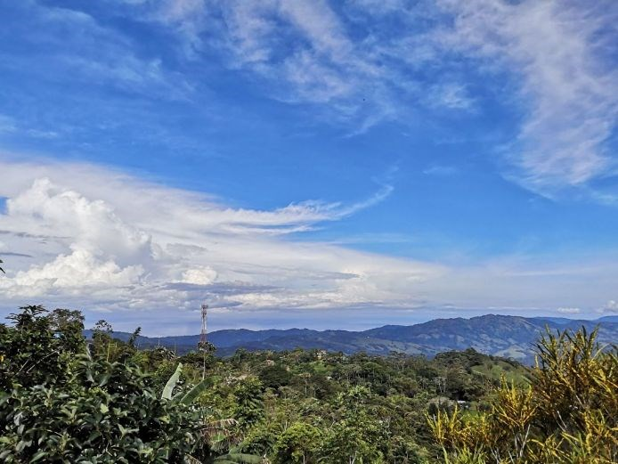 Remax real estate, Costa Rica, Pérez Zeledón, For sale Farm with ocean view and 9 month creek in La Alfombra