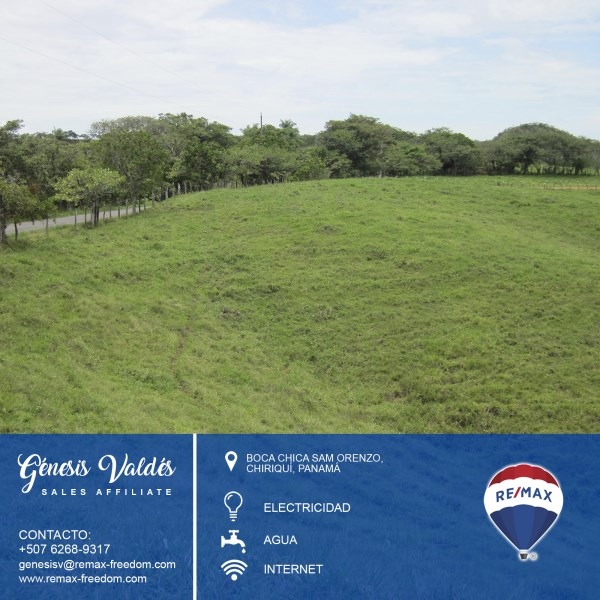 Remax real estate, Panama, San Lorenzo - Boca Chica, Large Land on the main road to Boca Chica.