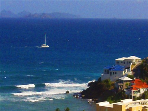 "RE/MAX real estate, St. Maarten, Dawn Beach, ""Princess Heights, Unit 1106"""