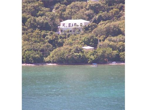 RE/MAX real estate, US Virgin Islands, Coral Bay, Pebble Beach Villa MLS#14-184