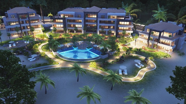 RE/MAX real estate, Curacao, Sint Michiel, Great new 3-bedroom apartments on private beach in the Caribbean for sale