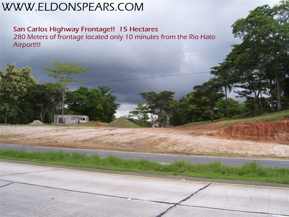 Remax real estate, Panama, San Carlos - San Carlos, 15 HA highway commercial near Rio Hato
