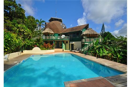 Remax real estate, Belize, Banana Bank, # 2219 - RIVERSIDE, JUNGLE LODGE - near BELMOPAN CITY, CAYO DISTRICT