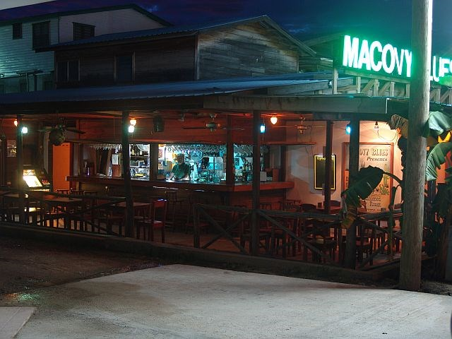 """RE/MAX real estate, Belize, Placentia Village, 6901 - Macovy Blues - Restaurant, Bar and Hotel Rooms"""""""