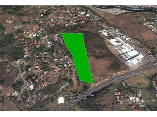Remax real estate, Costa Rica, Santa Ana - Pozos, Prime Land Next to Villarreal off highway 27